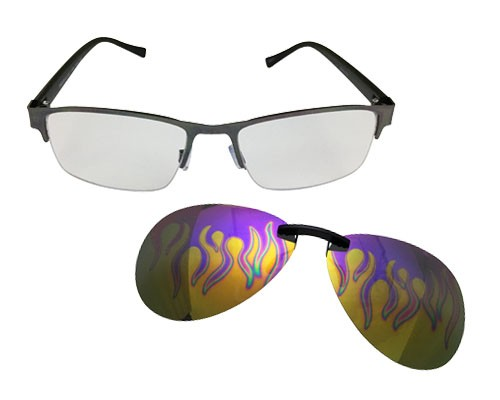 KL-1013 Clip-On Sunglasses